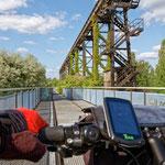 """2018-07-08 -  """"Landschaftspark Duisburg-Nord (7-47412)"""" - Mit dem Rad unterwegs in der Metropole Ruhr - Copyright by Franz Walter"""