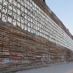 """""""RheinPark Duisburg - Wand der 1000 Gesichter - (7-07512)"""" - Copyright by Franz Walter"""
