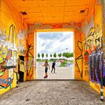 """""""RheinPark Duisburg - Graffitipark und Skateanalge (7-33432)"""" - Copyright by Franz Walter"""