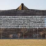 """2019-03-06 - """"RheinPark Duisburg - Wand der 1000 Gesichter (7-07412)"""" -  Route der Industriekultur - Copyright by Franz Walter"""