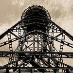 """2018-06-17 - """"Wasserturm Westpark Bochum (7-321222) B+W"""" - Mit dem Rad unterwegs in der Metropole Ruhr - Copyright by Franz Walter"""