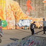 """2018-02-18 - """"RheinPark DU (7-07962)"""" - Skateanlage im RheinPark Duisburg - Copyright by Franz Walter"""