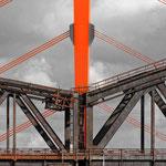 """""""Brücken in Duisburg (7-27493)"""" - Copyright by Franz Walter - Rheinbrücken in Duisburg"""