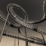 "2019-05-20 - ""Tiger and Turtle (7-10373) B+W"" -  RADREVIER.RUHR - Copyright by Franz Walter"
