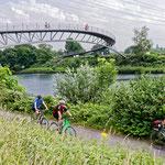 """2018-06-20 - """"Rhein-Herne-Kanal Oberhausen (7-46622)"""" - Mit dem Rad unterwegs in der Metropole Ruhr - Copyright by Franz Walter"""