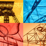 """2018-11-17 - """"Industriekultur Collage 2018-02"""" - Route der Industriekultur - Copyright by Franz Walter"""