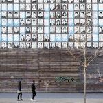 """2019-03-07 - """"RheinPark Duisburg - Wand der 1000 Gesichter (7-07552)"""" -  Route der Industriekultur - Copyright by Franz Walter"""