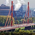 """""""Beeckerwerther Brücke in Duisburg (7-27903)"""" - Copyright by Franz Walter"""