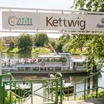 """2019-04-02 - """"Weiße Flotte in Kettwig am RuhrtalRadweg (7-32805)"""" -  RADREVIER.RUHR - Copyright by Franz Walter"""