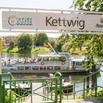 """2018-05-07 - """"Weiße Flotte in Kettwig (7-32805)"""" - Mit dem Rad unterwegs in der Metropole Ruhr - Copyright by Franz Walter"""