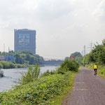 """2018-06-22 - """"Rhein-Herne-Kanal Oberhausen (7-46822)"""" - Mit dem Rad unterwegs in der Metropole Ruhr - Copyright by Franz Walter"""