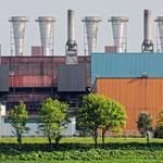"""""""Stahlwerk (40-0375)"""" - Stahlwerk in Duisburg - Copyright by Franz Walter"""
