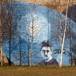 """""""RheinPark Duisburg - Graffitipark (7-07792)"""" - Copyright by Franz Walter"""