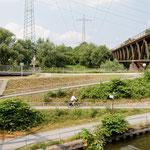 """2018-06-24 - """"Rhein-Herne-Kanal Oberhausen (7-46922)"""" - Mit dem Rad unterwegs in der Metropole Ruhr - Copyright by Franz Walter"""