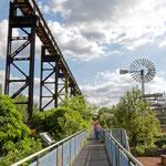 """2018-07-10 -  """"Landschaftspark Duisburg-Nord (7-47422)"""" - Mit dem Rad unterwegs in der Metropole Ruhr - Copyright by Franz Walter"""