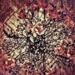 Asa's flowers - 40x42 cm - 500 euros