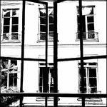 Fenêtre sur cour. Paris