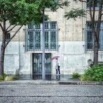 le parapluie rose - Paris