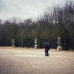 Jardins du château de Versailles hiver