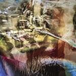 Réflexions - 60 x60 cm - 500 euros