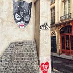 Catwoman. Street art