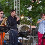 CHAOTIX mit Matthias Schriefl und Gerhard Gschlössl SÜDTIROL JAZZ FESTIVAL 2012