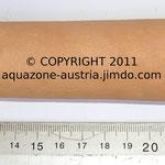 Tonhöhle M, Länge 13 cm; Ø 2,5 cm einseitig oder beidseitig offen
