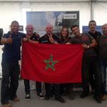 Gruppe aus Marokko
