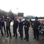 Gruppe aus Korea 5 Länder Tour