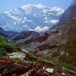 Blümlisalp Nordwand vom Gamchi im Kiental