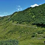 Der Rueckweg vom Blauen See zum Portla Fuerkele.