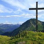 Almkreuz bei der Alpe Portla