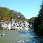 Kanuten Donau abwärts
