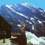 Blümlisalp mit Morgenhorn NO-Wand von der Gspaltenhornhütte