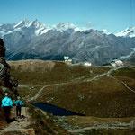 Abstieg zum Schwarzsee
