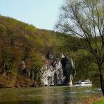 Blick vom Wanderweg Donau aufwärts