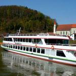 Am Schiffsanleger in Kehlheim