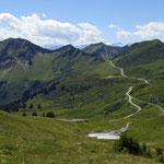 Portla Alpe und Furkajochstraße