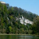 Befreiungshalle vom Ausflugsschiff auf der Donau