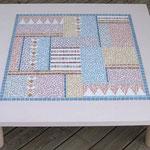 Table basse en mosaÏque (100x100xcm)