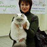 выставка 23.12.12.  5 мес с хозяйкой Ириной