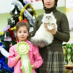 выставка 23.12.12.  5 мес  4 место WCF ринга