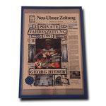 artblow - GEORG HIEBER - Private Jahreszeitung 1991 - Neu-Ulmer Zeitung