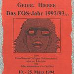 artblow - GEORG HIEBER - Das FOS Jahr mit meinen Augen