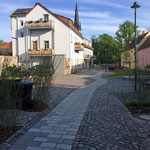 Kirchplatz in Weinböhla