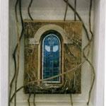 『窓』 / 2003 / mixed media / H310㎜×W250㎜×D120㎜  /