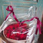 ※結婚記念日のバラ30本プリザーブドフラワー花束 【価格目安】24,500円