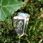 Bergkristall Silberkappe