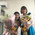 中津川の老人ホームにて歌わせていただきました♪ピアノの佳代子ちゃんありがとう!