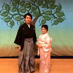 名古屋能楽堂にてバリトン能勢先生と共演いたしました♪